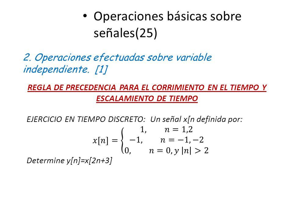 Operaciones básicas sobre señales(25)