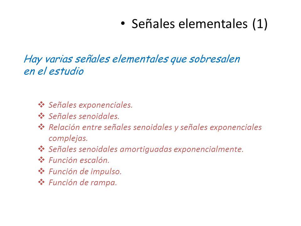 Señales elementales (1)