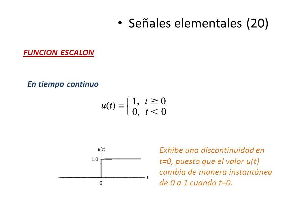 Señales elementales (20)