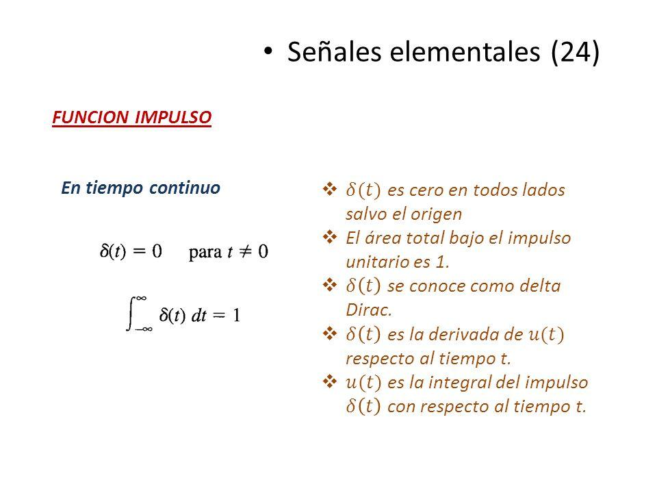 Señales elementales (24)