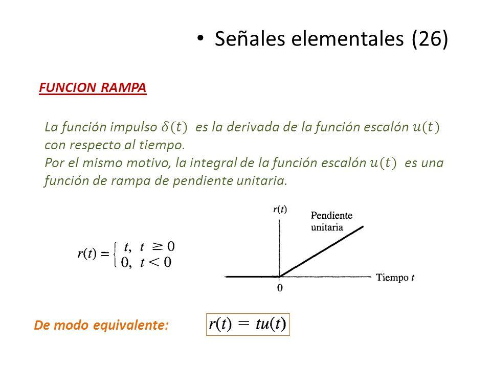 Señales elementales (26)