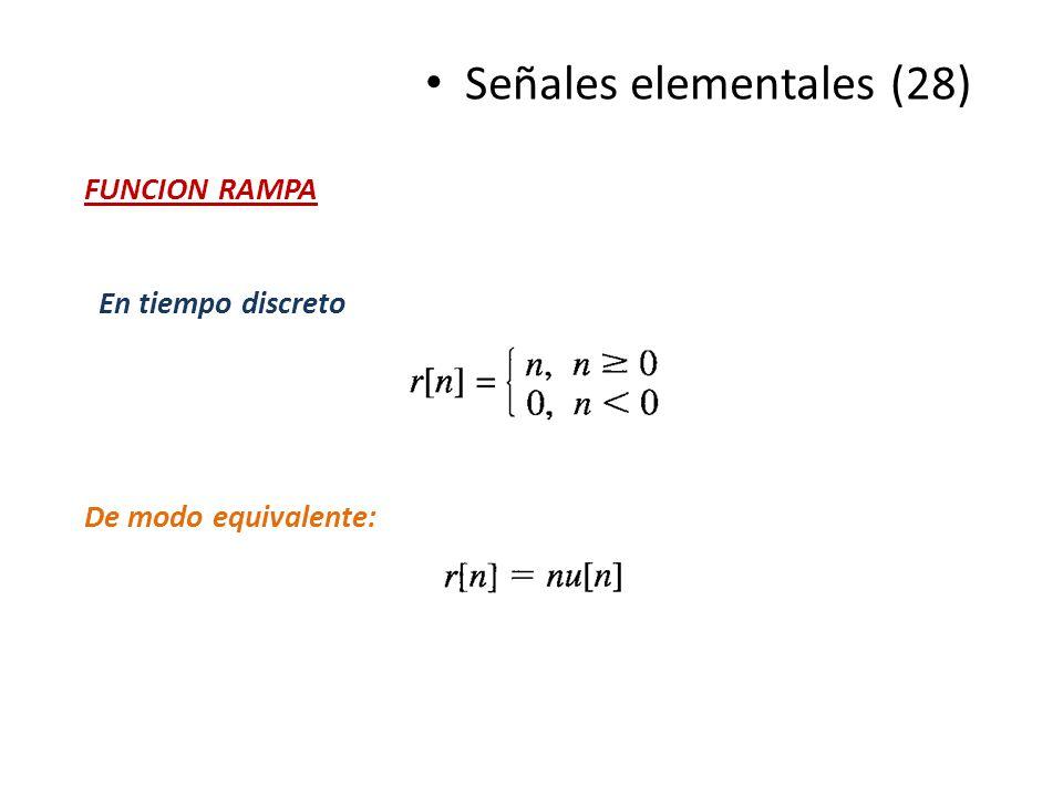 Señales elementales (28)