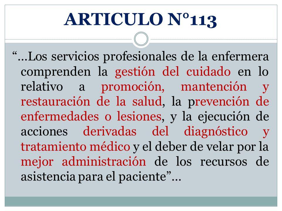 ARTICULO N°113