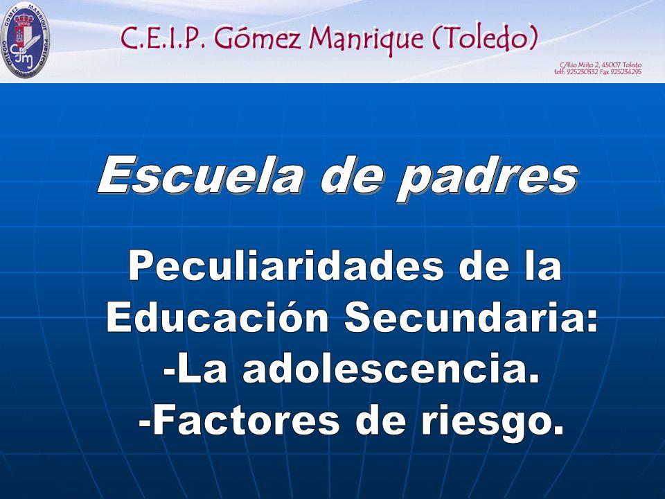 Educación Secundaria: