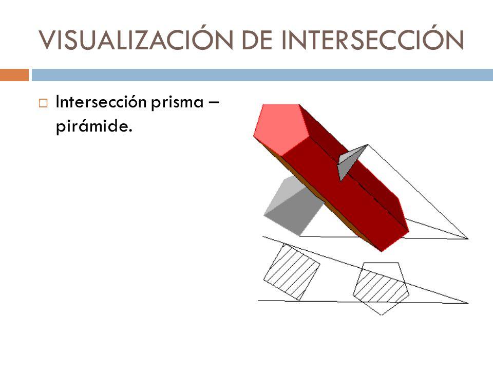 VISUALIZACIÓN DE INTERSECCIÓN
