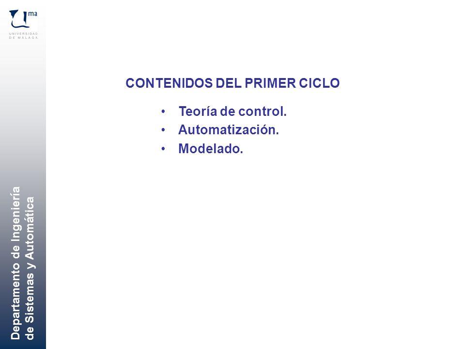 CONTENIDOS DEL PRIMER CICLO
