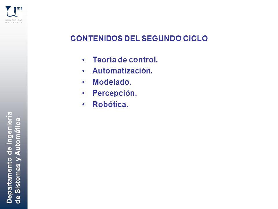 CONTENIDOS DEL SEGUNDO CICLO