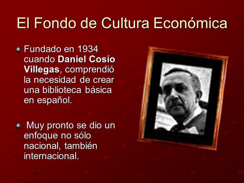 El Fondo de Cultura Económica