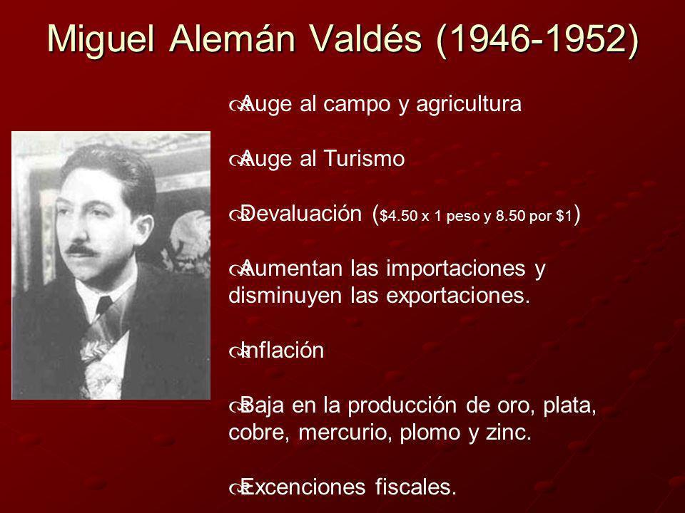 Miguel Alemán Valdés (1946-1952)