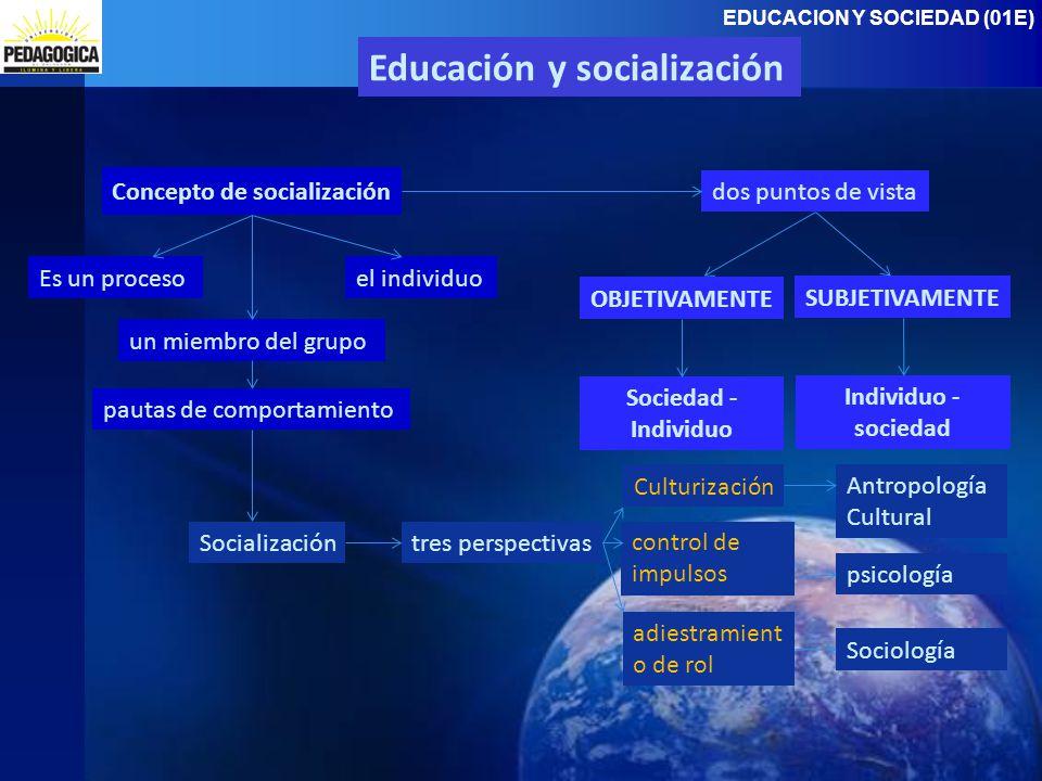 Educación y socialización