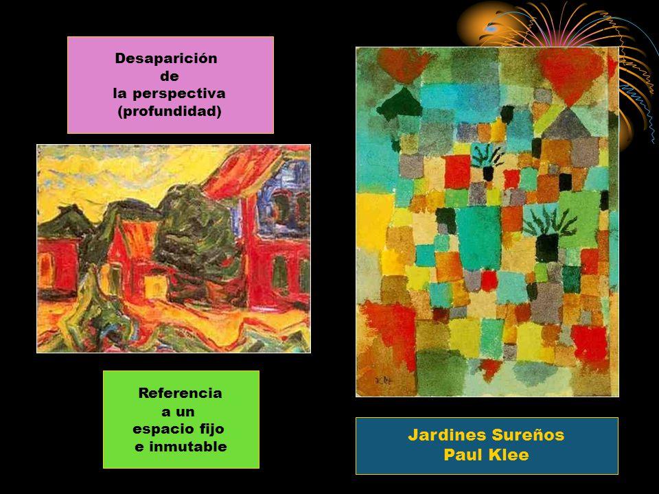Referencia Jardines Sureños Paul Klee Desaparición de la perspectiva