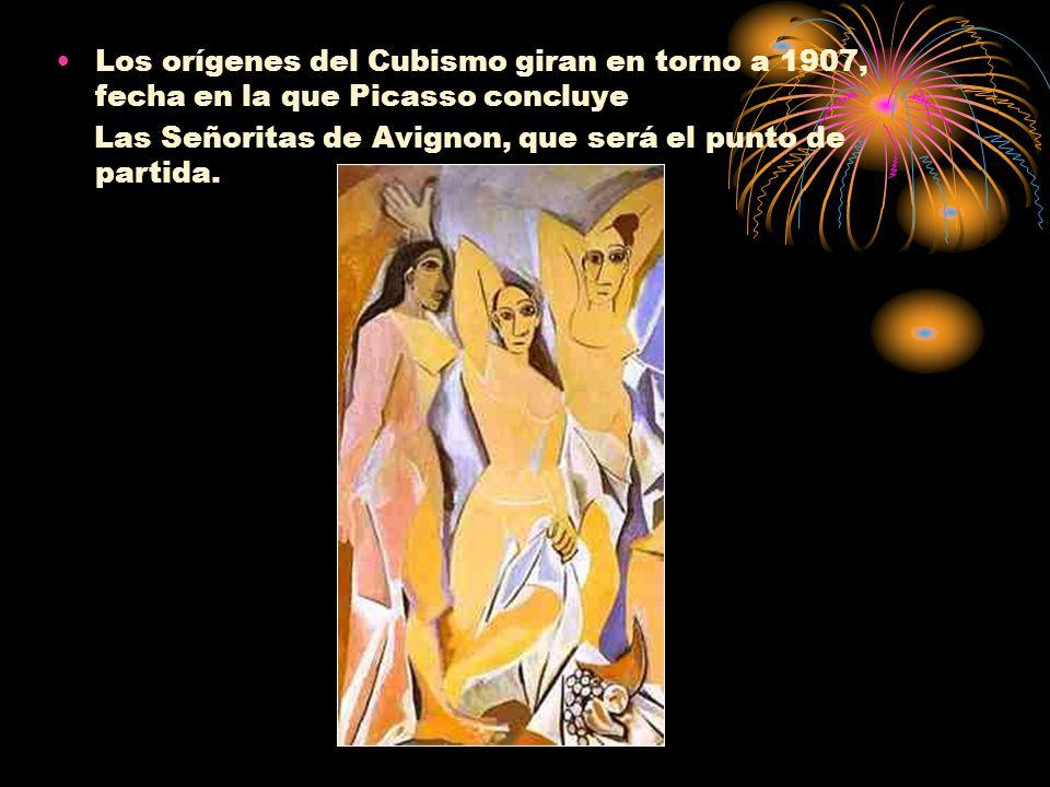 Los orígenes del Cubismo giran en torno a 1907, fecha en la que Picasso concluye