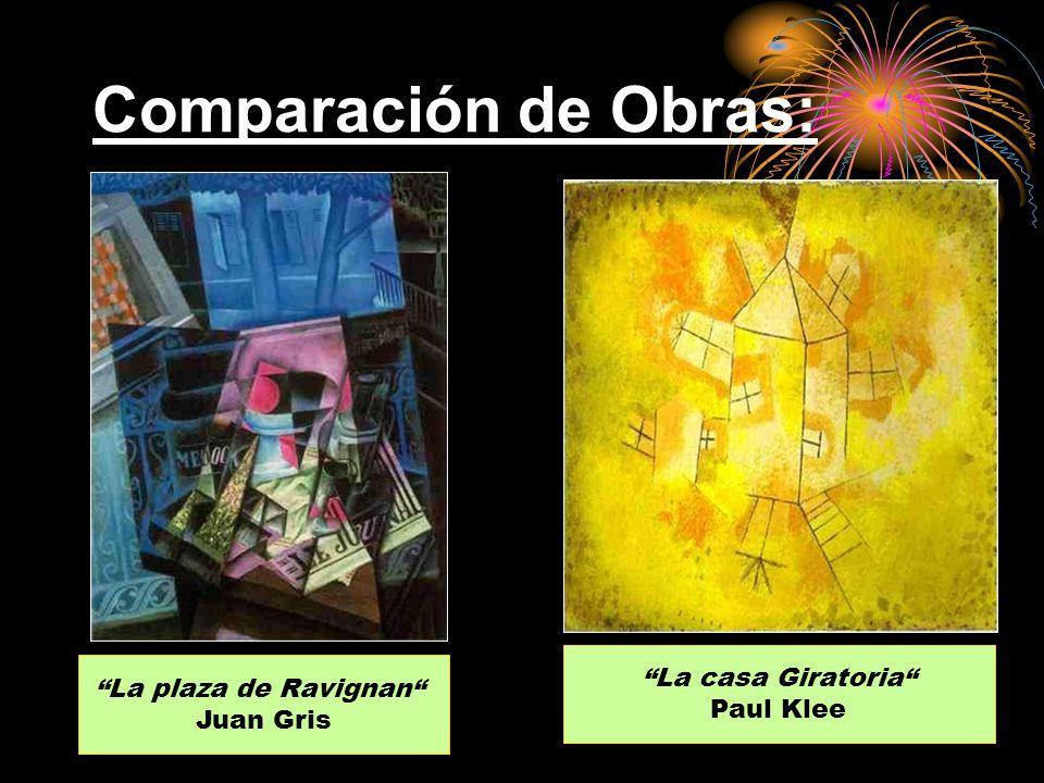 Comparación de Obras: La casa Giratoria La plaza de Ravignan