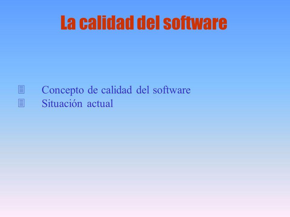 La calidad del software
