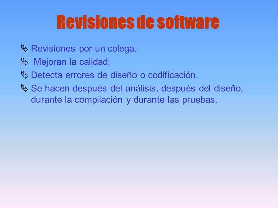 Revisiones de software