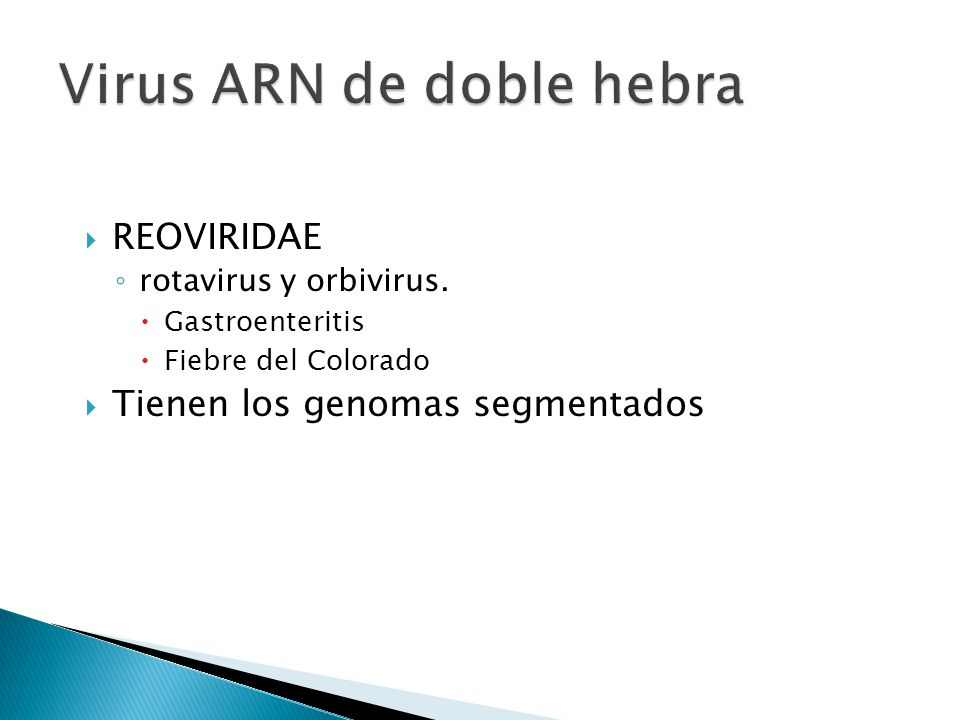 Virus ARN de doble hebra