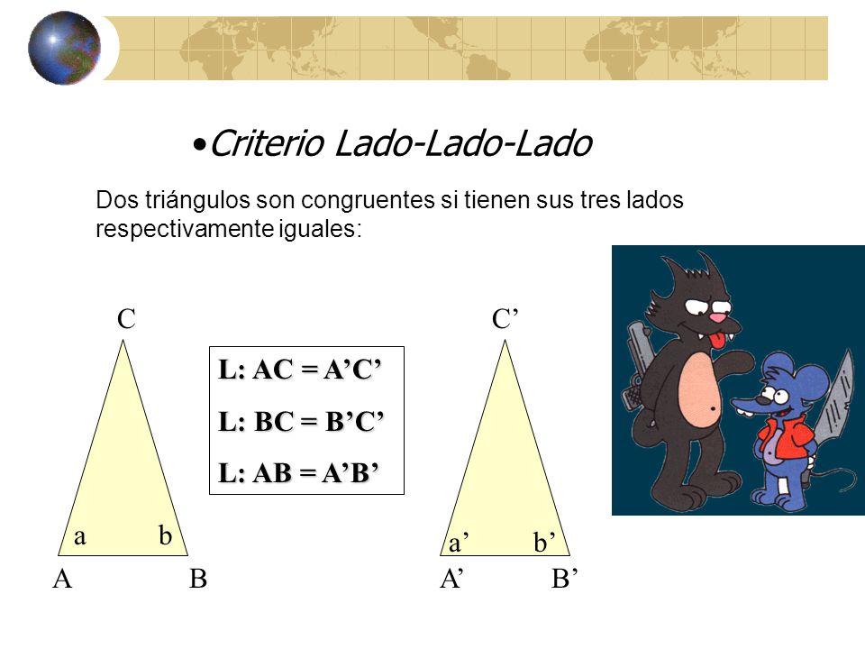 Criterio Lado-Lado-Lado