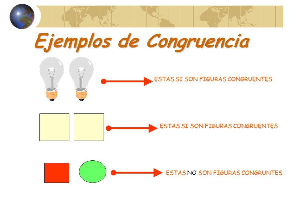 Ejemplos de Congruencia