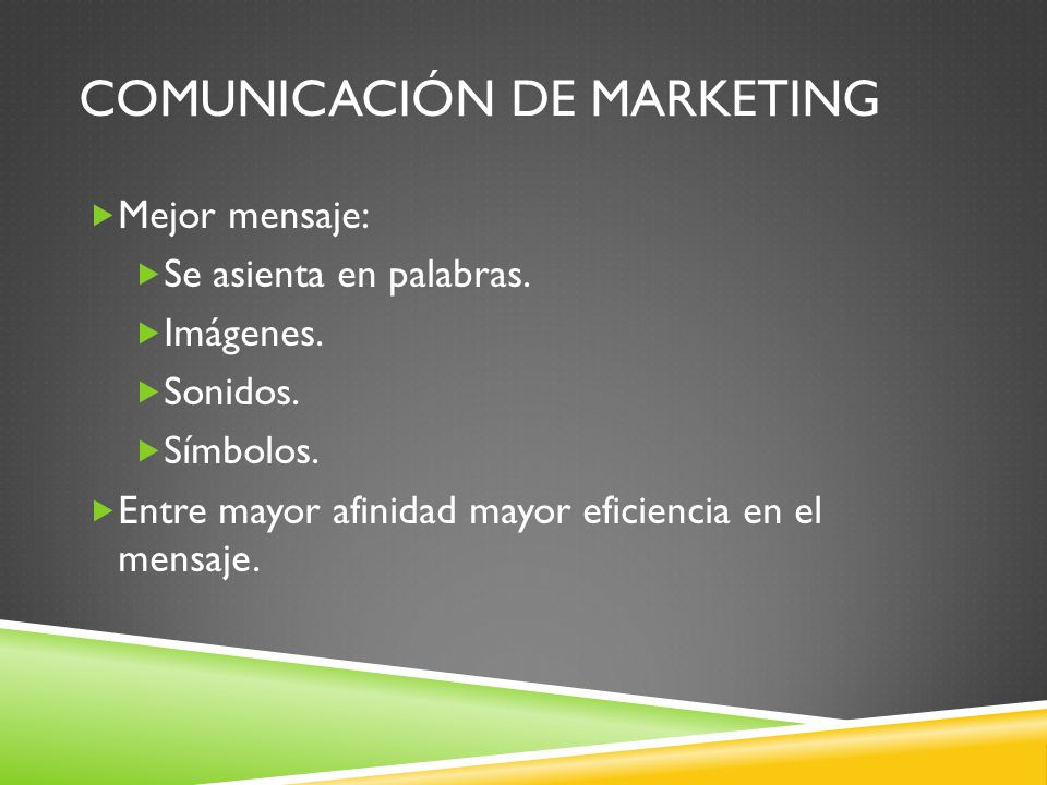 Comunicación de marketing