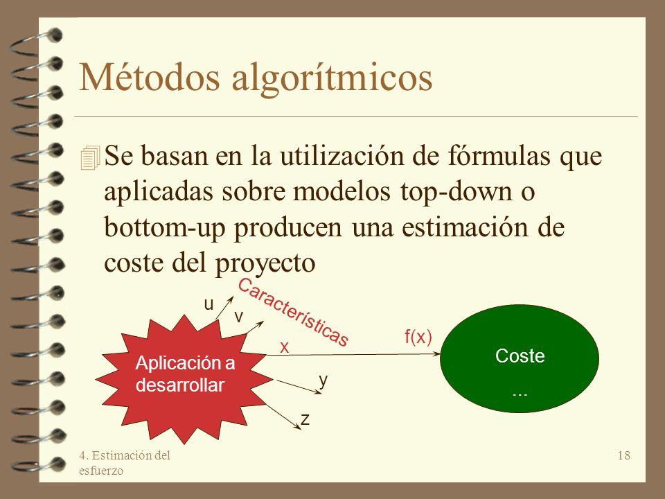 Métodos algorítmicos