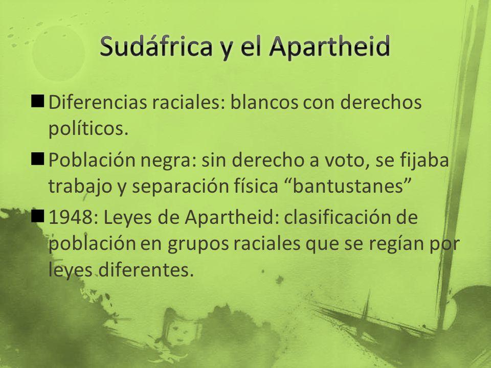 Sudáfrica y el Apartheid