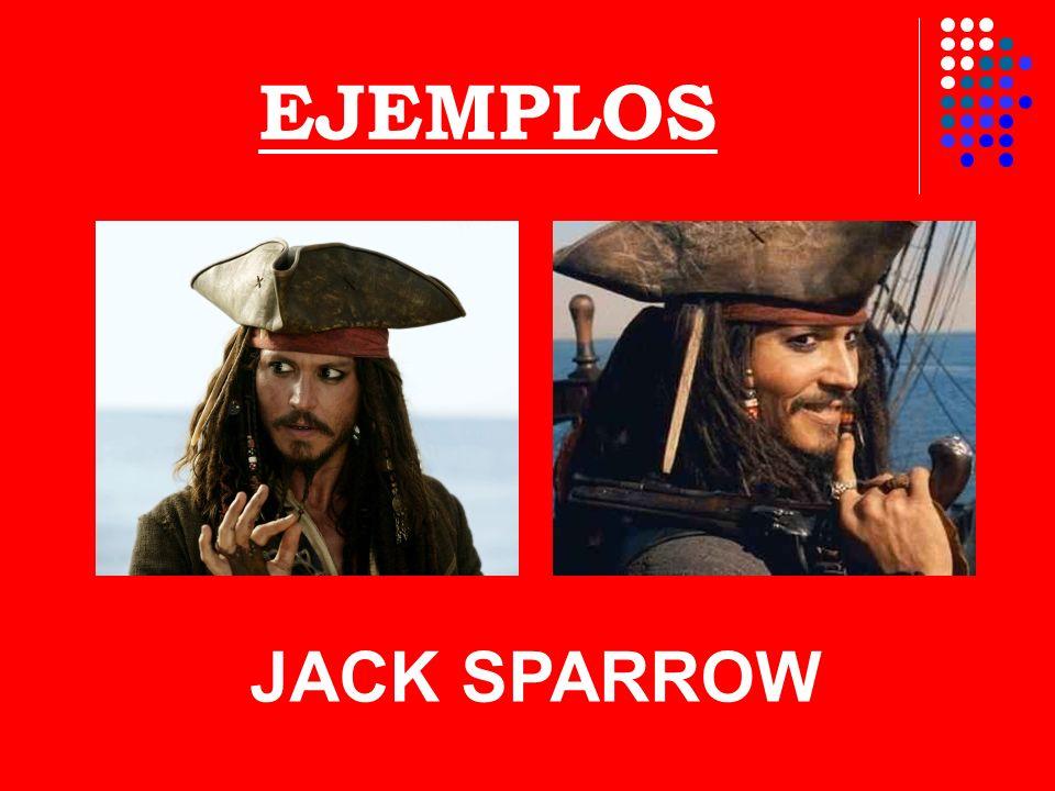 EJEMPLOS JACK SPARROW