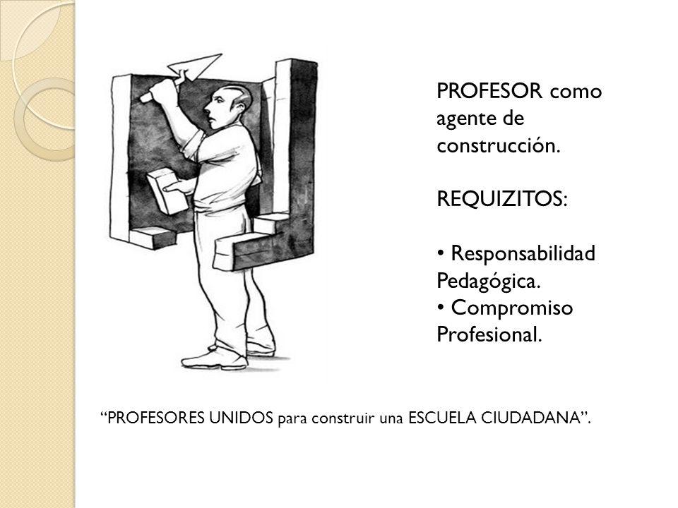 PROFESOR como agente de construcción.