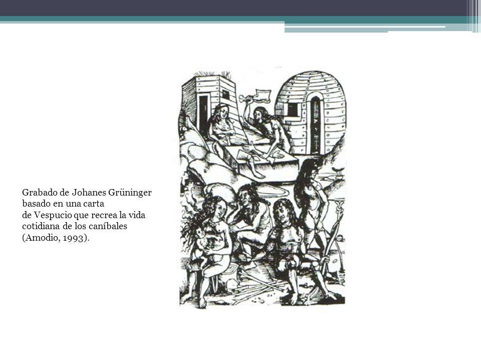 Grabado de Johanes Grüninger basado en una carta