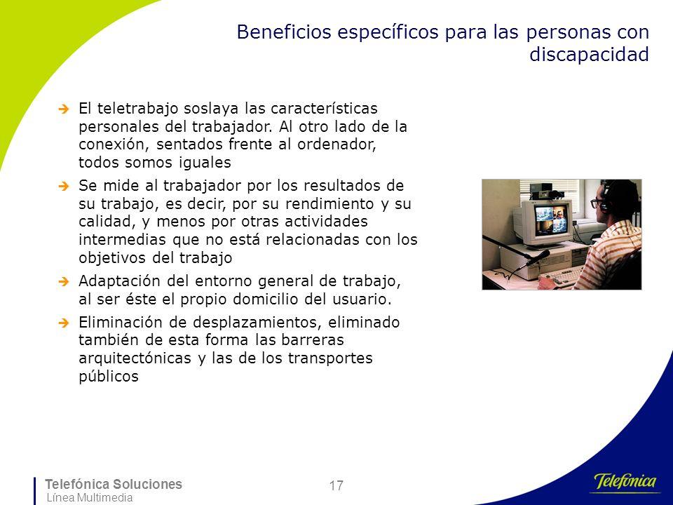 Beneficios específicos para las personas con discapacidad