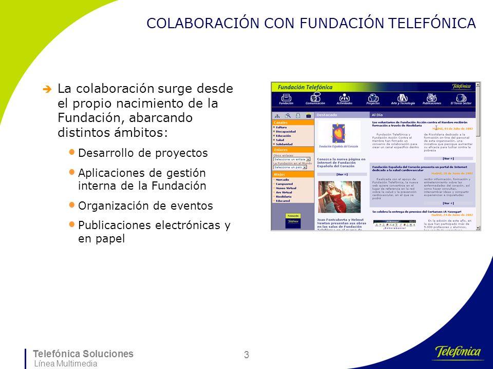 COLABORACIÓN CON FUNDACIÓN TELEFÓNICA