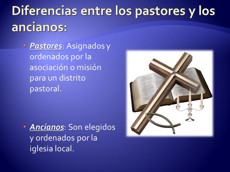 Diferencias entre los pastores y los ancianos: