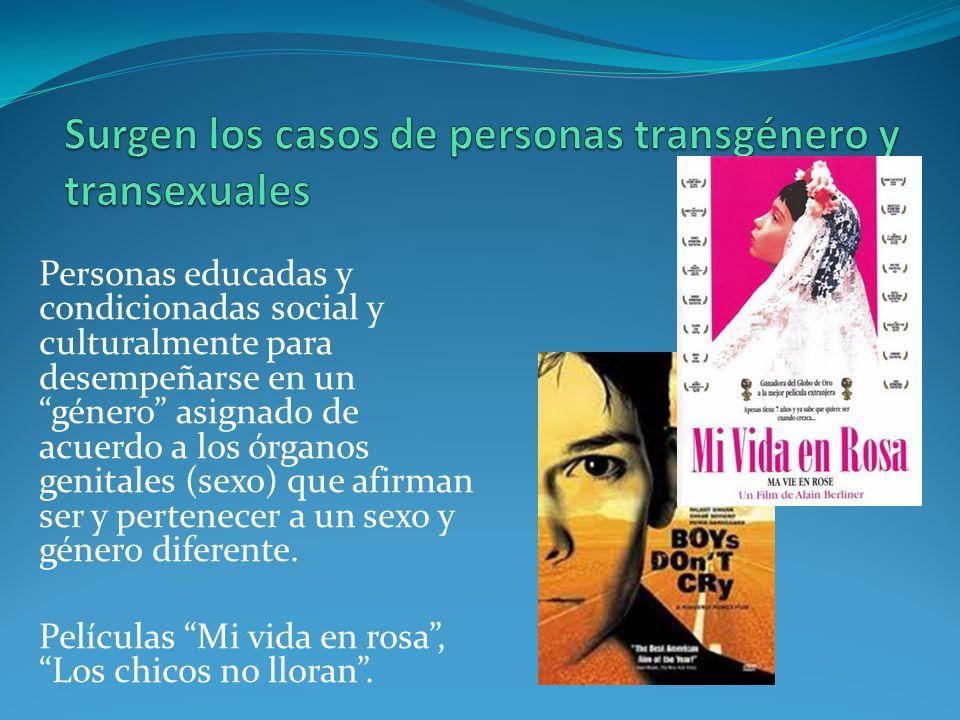 Surgen los casos de personas transgénero y transexuales