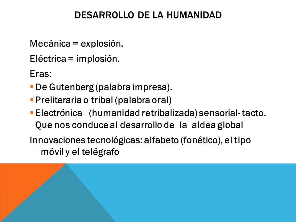 DESARROLLO DE LA HUMANIDAD