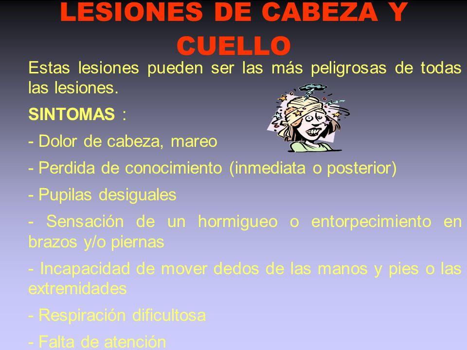 LESIONES DE CABEZA Y CUELLO