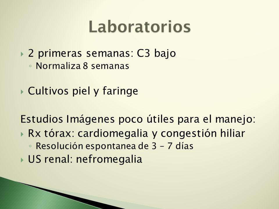 Laboratorios 2 primeras semanas: C3 bajo Cultivos piel y faringe