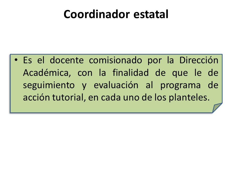 Coordinador estatal