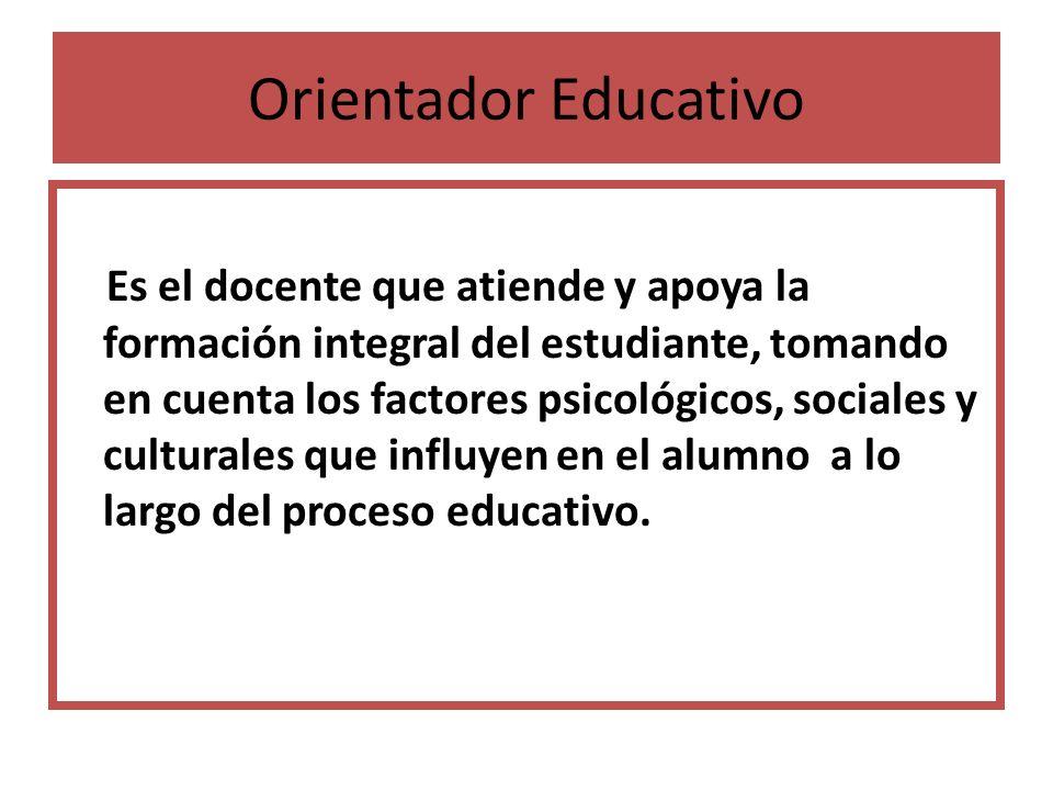 Orientador Educativo