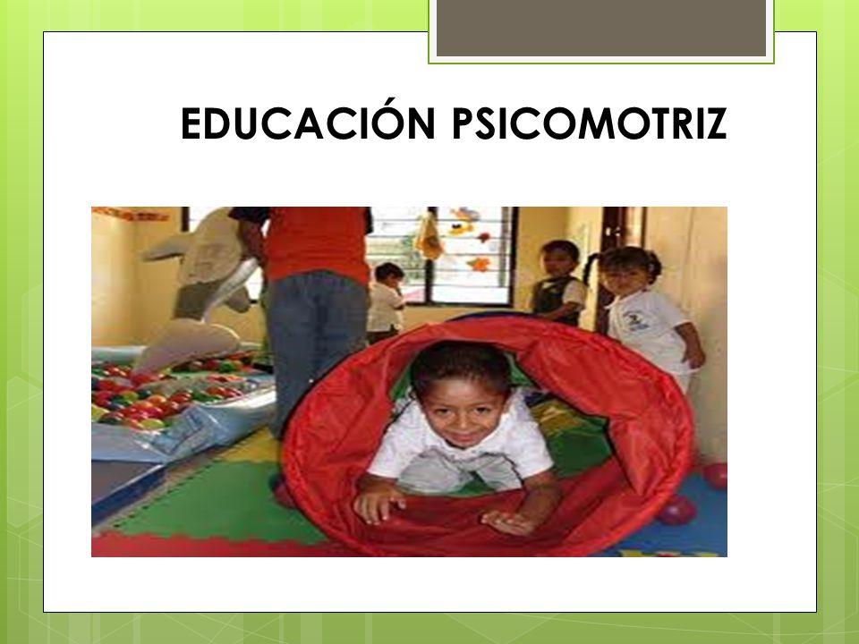 EDUCACIÓN PSICOMOTRIZ