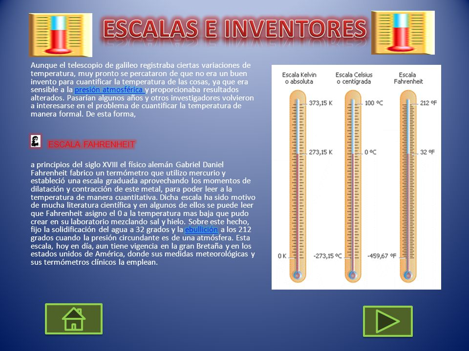 ESCALAS E INVENTORES