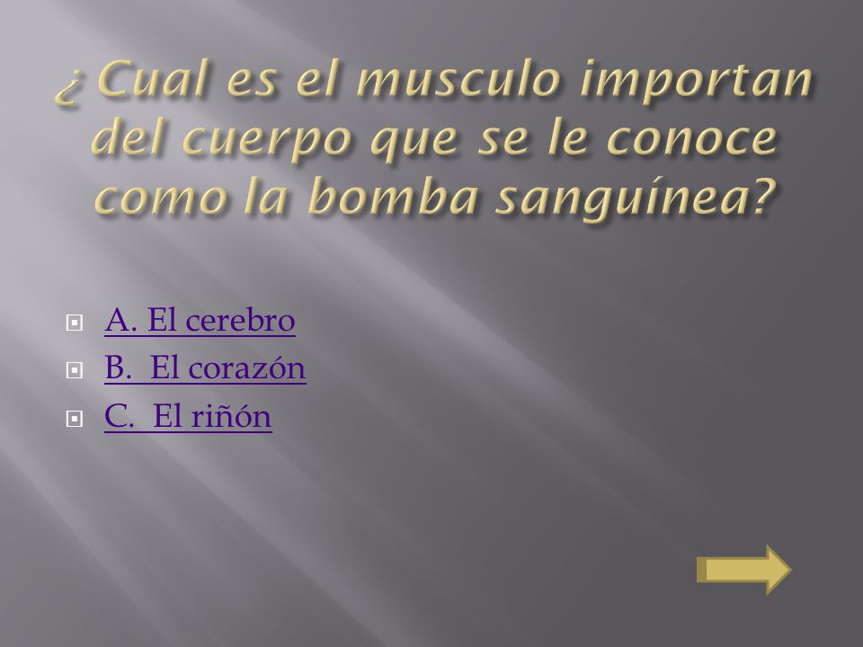 ¿ Cual es el musculo importan del cuerpo que se le conoce como la bomba sanguínea