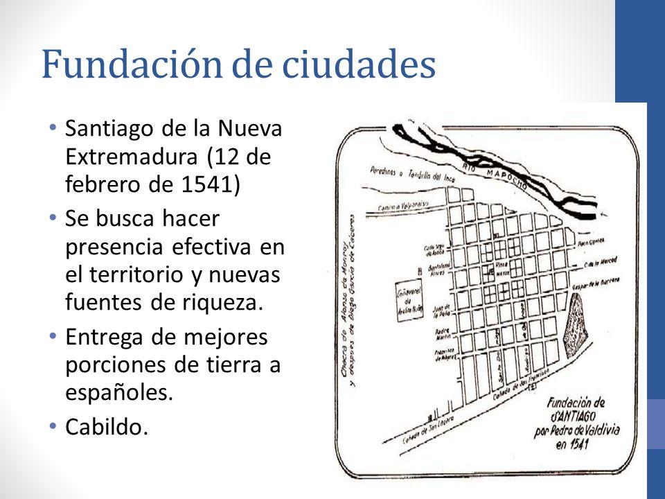 Fundación de ciudades Santiago de la Nueva Extremadura (12 de febrero de 1541)