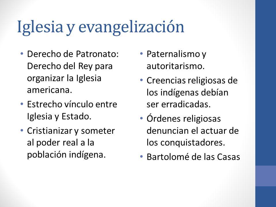 Iglesia y evangelización