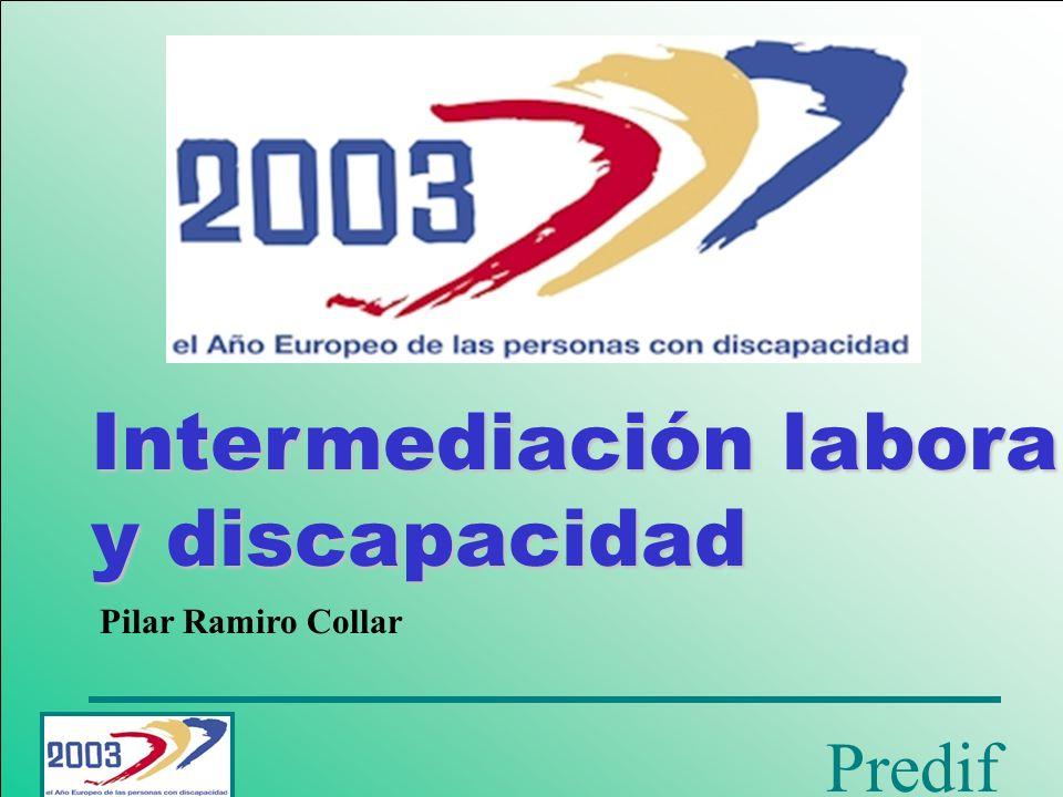 Intermediación laboral y discapacidad