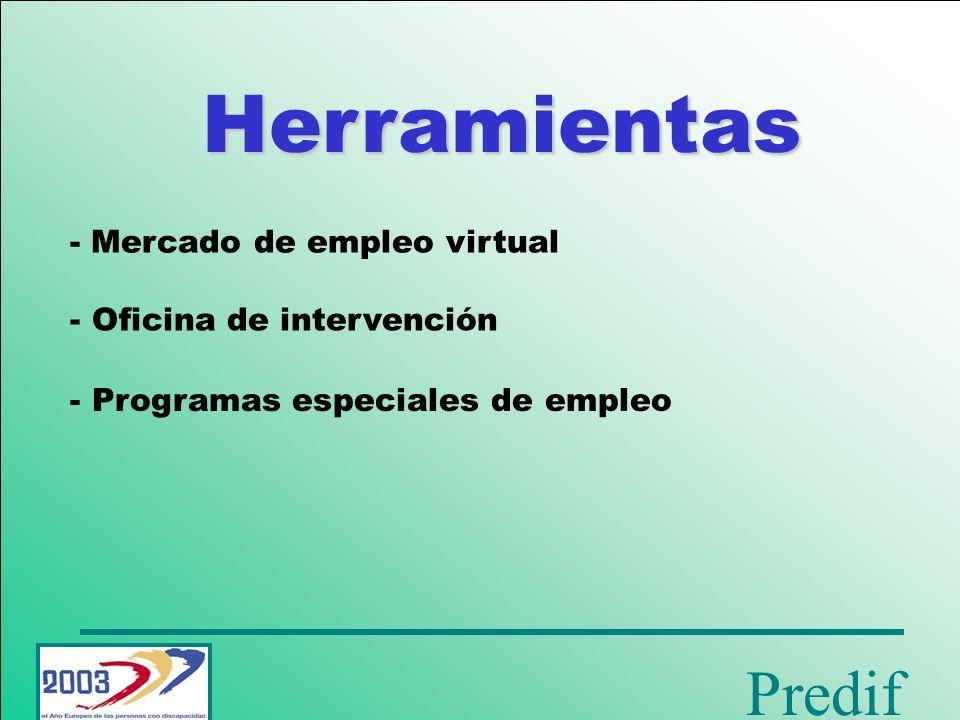 Herramientas - Mercado de empleo virtual Oficina de intervención