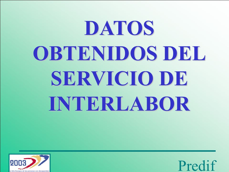 SERVICIO DE INTERLABOR
