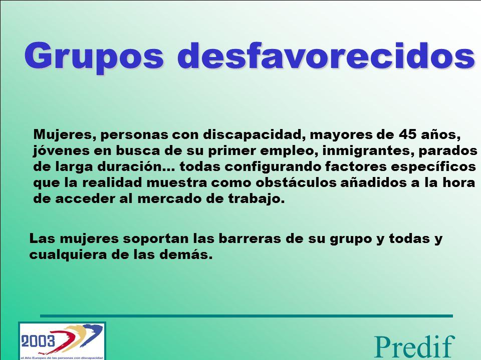 Grupos desfavorecidos