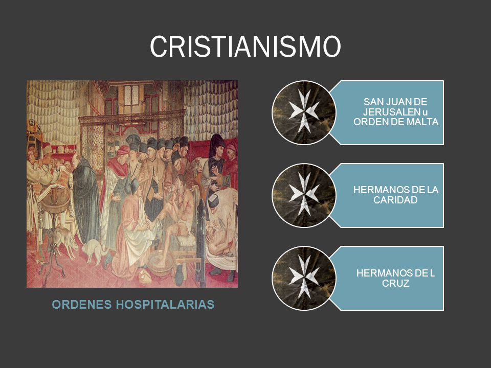 ORDENES HOSPITALARIAS