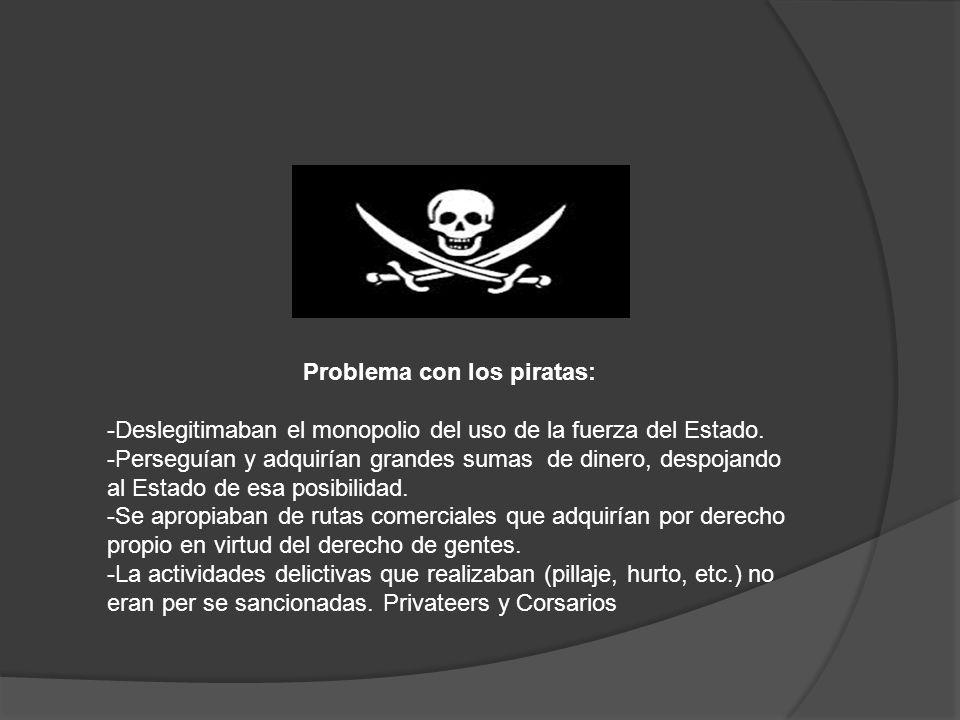 Problema con los piratas: