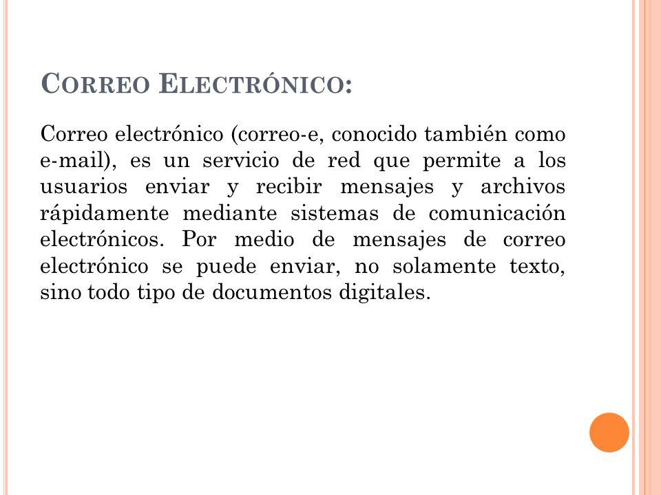 Correo Electrónico: