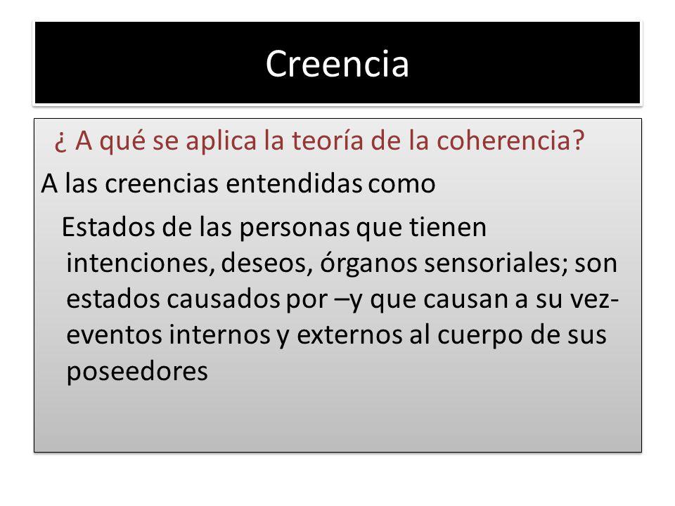 Creencia